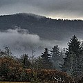 Fall Low Clouds And Fog by Chriss Pagani