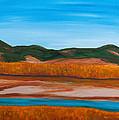 Fall Marsh by Buddy Cushman