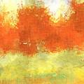 Fall Meadow by David G Paul