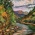 Fall New River Scene by Kendall Kessler