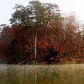 Fall On Melton Hill Lake by Douglas Stucky