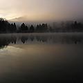 Fall On Melton Hill Lake Vi by Douglas Stucky