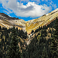 Fall On Red Mountain Pass by Jeff Stoddart