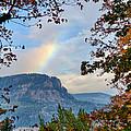 Fall Rainbow by David Hart
