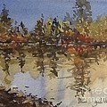 Fall Reflected by Gail Heffron