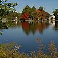 Fall Reflection by Caroline Stella