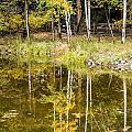 Fall Reflection In Yosemite 2 by Doug Holck