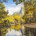 Fall Reflection In Yosemite by Doug Holck