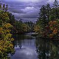 Fall River Scene by John Kirwin