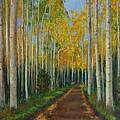Fall Road by Jana Baker