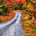 Fall Road To Paradise by Dan Sproul