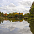 Fall Season By The Pond by Jit Lim