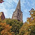 Fall Steeple by Eric Swan