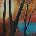Fall Sun by Renee Poblacion
