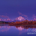 Fall Sunrise Grand Tetons National Park Wyoming by Dave Welling