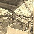 Fallen Car Port by Marge Cari