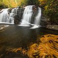 Autumn Waterfall by Doug McPherson