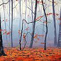 Fallen Leaves by Graham Gercken