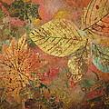 Fallen Leaves II by Ellen Levinson