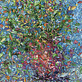 Falling Flowers by James W Johnson