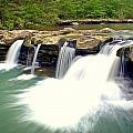 Falling Waters Falls 4 by Marty Koch