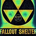 Fallout Shelter Abstract 2 by Stephen Stookey
