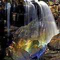 Falls And Rainbow by Paul W Faust -  Impressions of Light