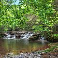 Falls At Camp Creek  by Mary Almond