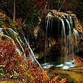 Falls At Hanging Lake by Jeremy Rhoades