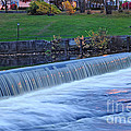 Falls At Slater Mill by Alex Arig