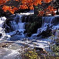 Falls In The Fall by Larry Ricker
