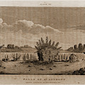 Falls Of St. Anthony, 1821, Narrative Journal Of Travels by Litz Collection