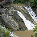 Falls On The Coeyman Creek by James Connor