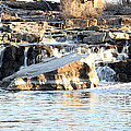 Falls Park Waterfalls by Lori Tordsen