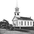 Falmouth Church In Hyannis by Underwood Archives