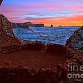 False Kiva Sunset by Adam Jewell