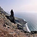 Famara Cliffs On Lanzarote by Karol Kozlowski