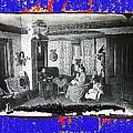 Family At Home Interior Collage Tucson Arizona Circa 1883-2012 by David Lee Guss