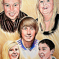 Family Collage Commissions by Andrew Read