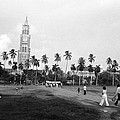 Family Crossing Oval Maidan by Jagdish Agarwal