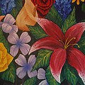 Family Flowers by Barbara Stanley