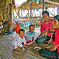 Family In Countryside Outside Of Siem Reap-cambodia by Ruth Hager