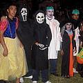 Family Of Ghouls Halloween Party Casa Grande Arizona 2005 by David Lee Guss