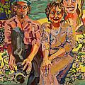 Family Portrait by Doris  Lane Grey
