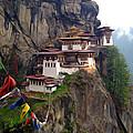 Famous Tigers Nest Monastery Of Bhutan 10 by Jeelan Clark