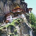 Famous Tigers Nest Monastery Of Bhutan 7 by Jeelan Clark