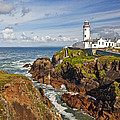 Fanad Lighthouse Donegal Ireland by Marcia Colelli