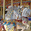Fanciful Carousel Ponies by Ann Horn
