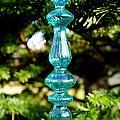 Fancy Blue Ornament by Kerri Mortenson