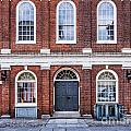 Faneuil Hall Facade by Susan Cole Kelly